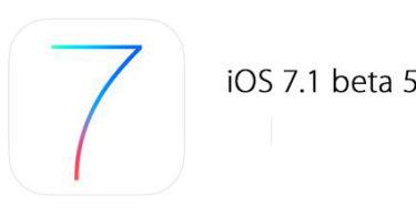 illustration pour la sortie de iOS 7.1 beta 5