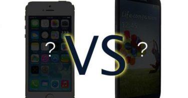 illustration du futur iPhone 6 et Galaxy S5
