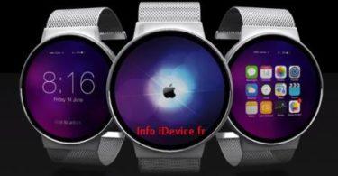 image du dernier concept d'iWatch Apple