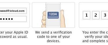 vérification en deux étapes pour l'identifiant Apple