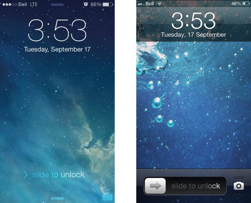 classiclockscreen sur iPhone