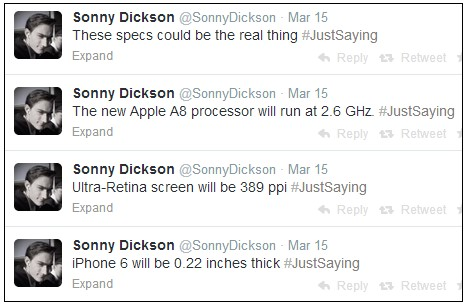 iphone 6 sonny dickson