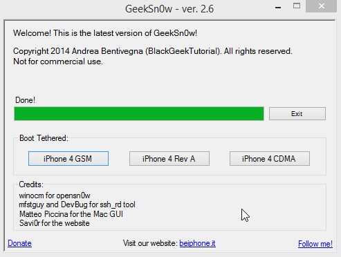 Jailbreak Iphone 4 Ios 7.1 Geeksn0w Infoidevice 6