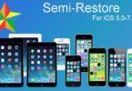 semi-restore for iOS 5.0 - 7.0.6