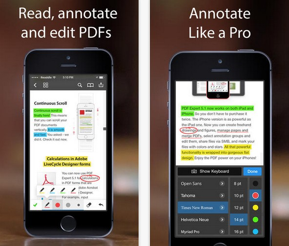 PDF Expert 5.1 par Readdle