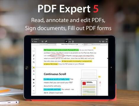 Readdle PDF EXpert 5.1