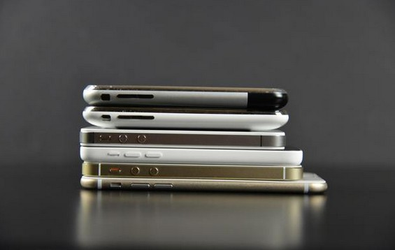 comparaison iphone 6 en vidéo