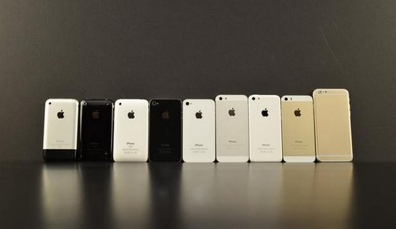 comparaison iphone 6