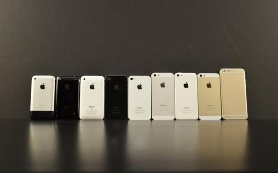 comparaison iphone 6