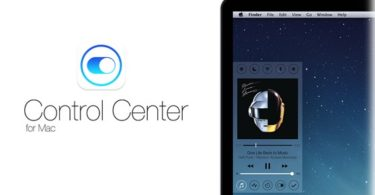 control center for mac os x