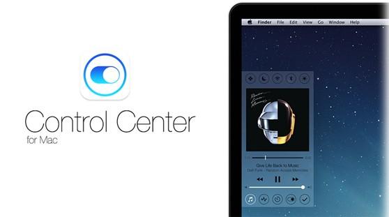 control center for mac os x