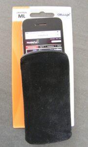 pochette pour iPhone 5/5S/5C en microfibre
