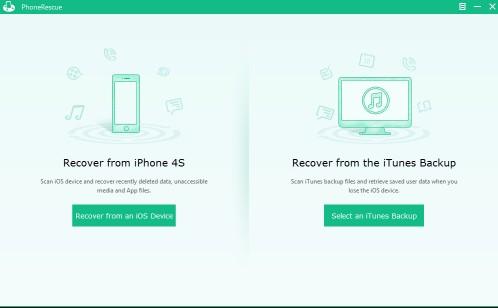 Phonerescue retrouvez les données depuis son iphone ou sauvegarde itunes