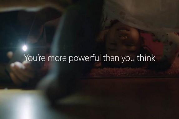 vidéo pub Apple iPhone 5s