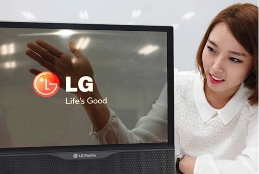 écran flexible et transparent LG