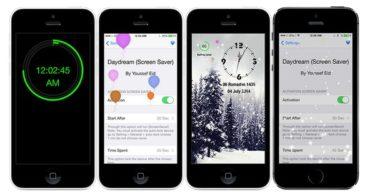 DayDreamer économiseur d'écran pour iPhone