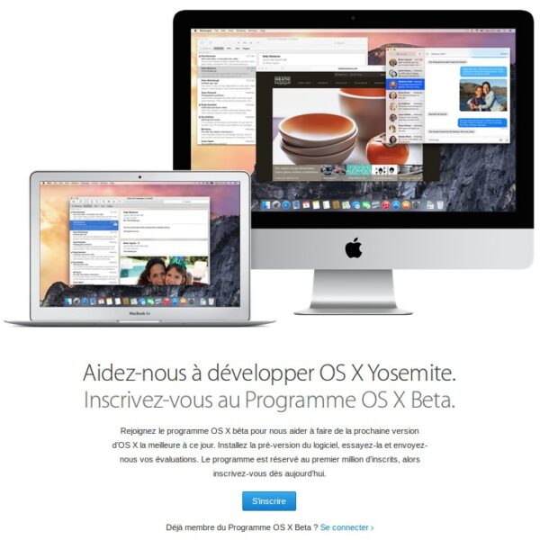 Installer OS X Yosemite sur Mac