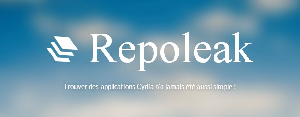 Repoleak applications cydia