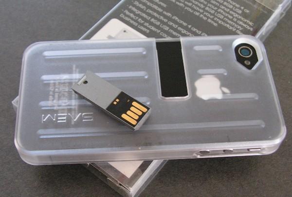 coque iphone avec clé usb
