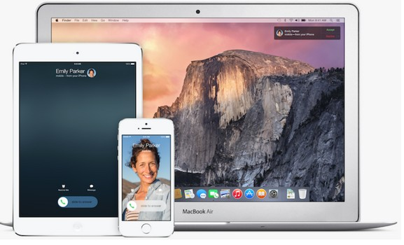 ios 8 et OS X Yosemite