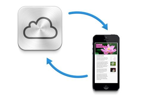 synchroniser les contacts icloud sur iphone et ipad