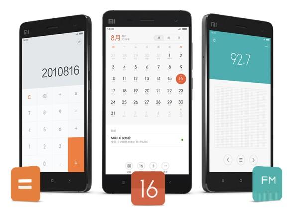 calendrier Xiaomi MIUI 6