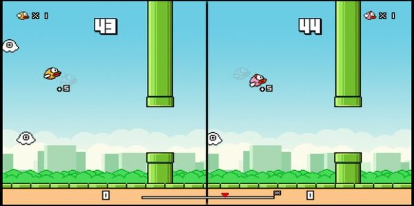 flappy birds family disponible sur l'App Store Amazon