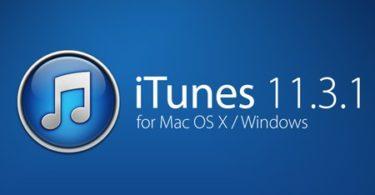 iTunes 11.3.1 pour Mac et Windows