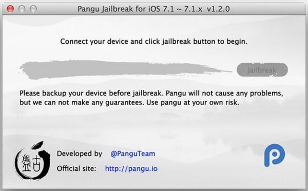 pangu iOS 7 jailbreak untethered ios 7.1-7.1.2