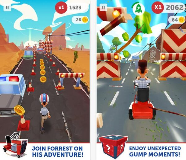 run forrest run pour iphone et ipad