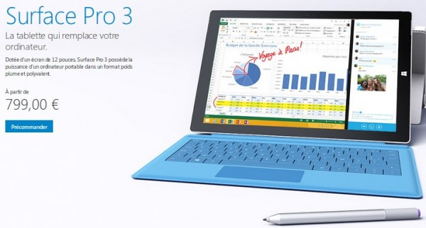acheter surface pro 3 sur priceminister