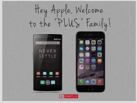 OnePlus One vs iphone 6 plus