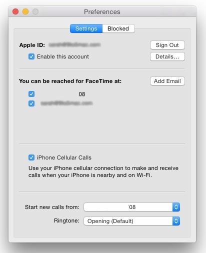 envoyer et recevoir des appels sur mac et ipad
