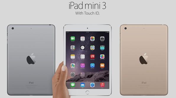 ipad mini 3 avec touch id
