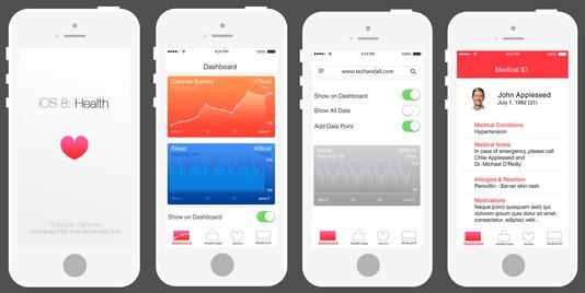 Health retiré de la bêta iOS 8.1.1
