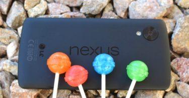 android 5.0 lollipop nexus