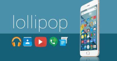 android lollipop sur iPhone