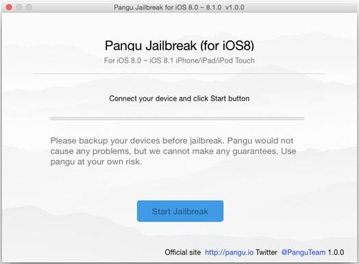 jailbreak pangu mac ios 8