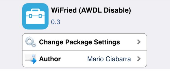 wifried ameliore le wifi ios 8