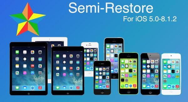 semi restore ios 8.1.2-infoidevice