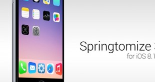 springtomize 3 ios 8.1.1