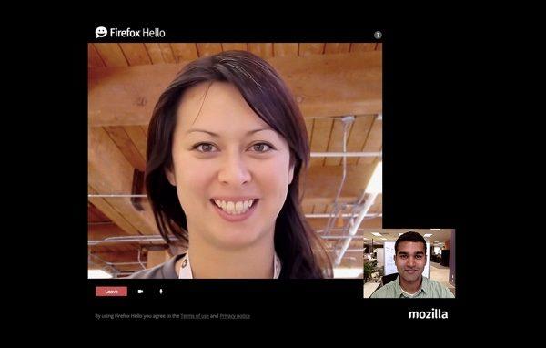 firefox Hello dans Firefox 35-infoidevice