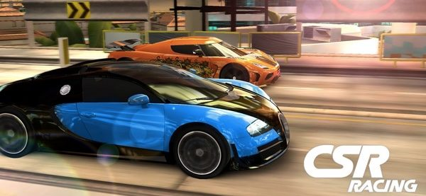 jeux multitjoueurs CSR racing-infoidevice