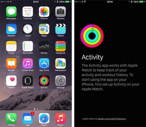 app activity iphone ios 8.2-infoidevice