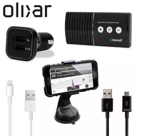 pack accessoires bluetooth olixar-infoidevice