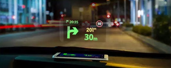 Heads Up Display Mode HUD-infoidevice