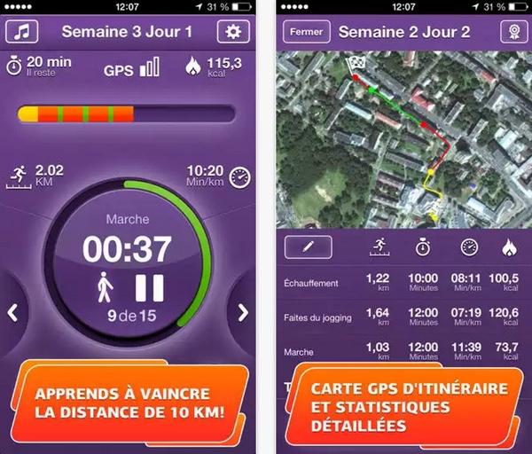 run 10k pro gratuit-infoidevice