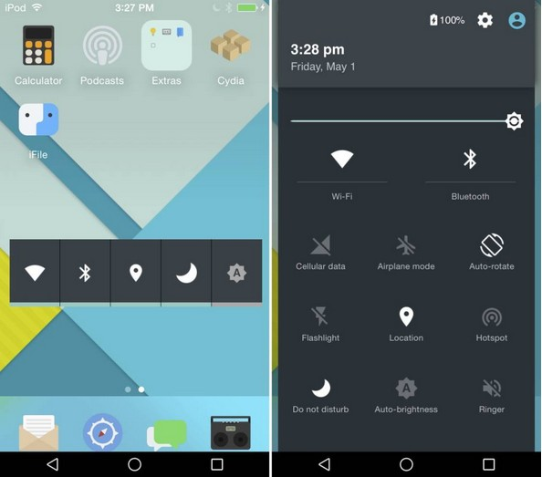 andrios android sur iphone-infoidevice