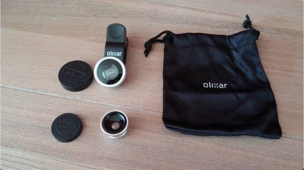 test lentile clip universel olixar-infoidevice