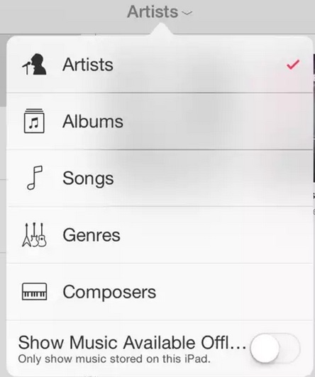 toogle music ios 8.4 beta 3-infoidevice